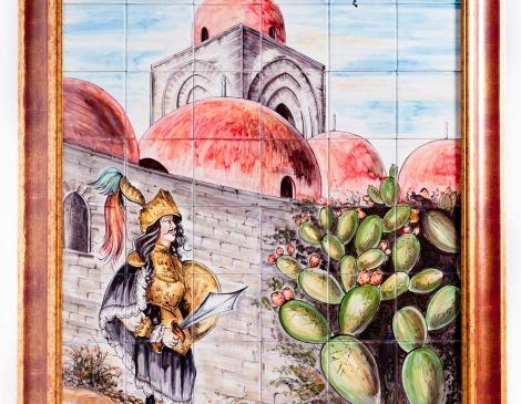 pannello san Giovanni degli eremiti